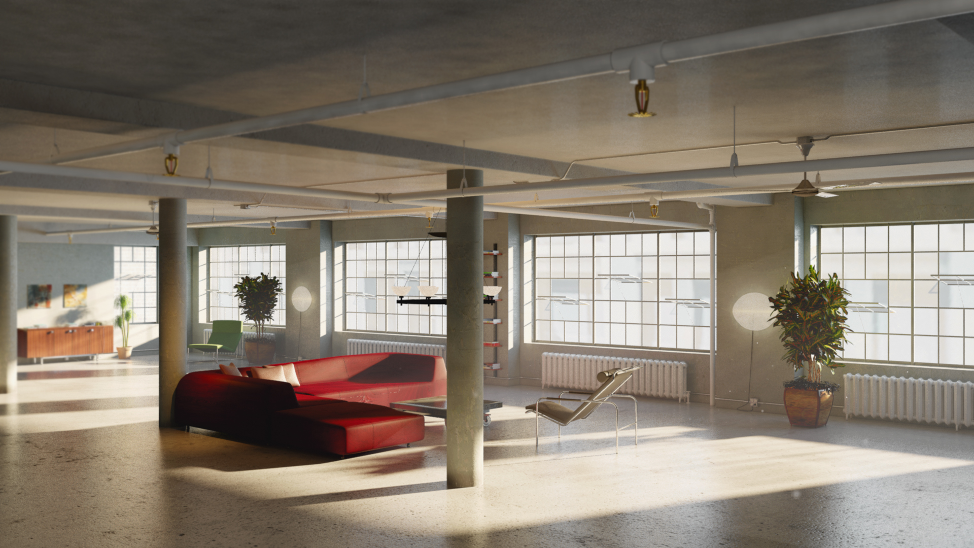 Loft Furnished